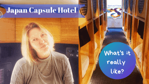 Japanese capsule hotel experience