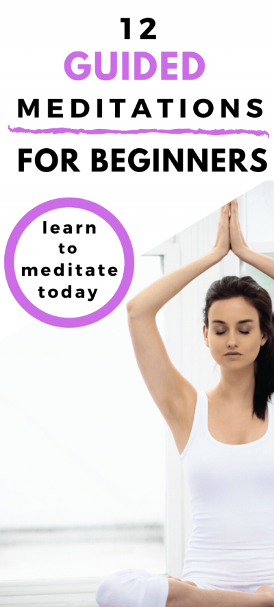 12 Guided Meditations for Beginners pin