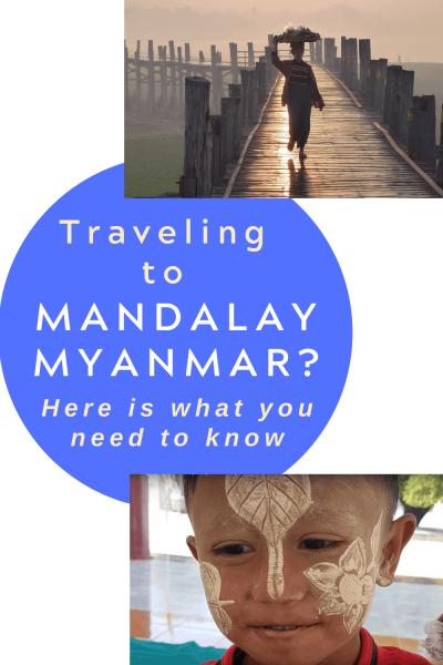 Mandalay Myanmar pin