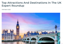 Top Attractions And Destinations In The UK Expert Roundup